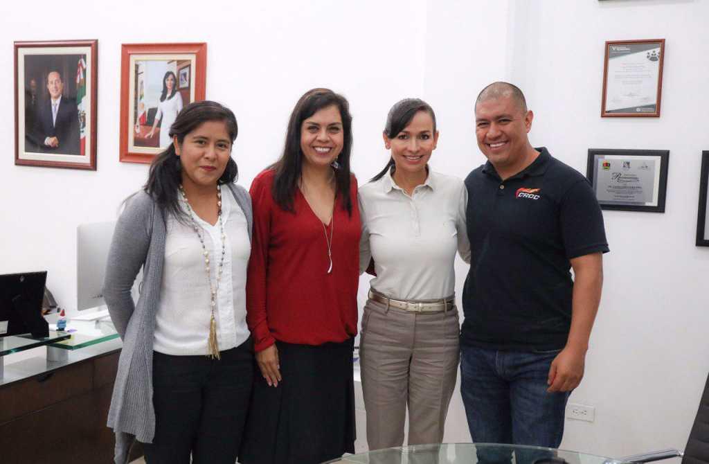 Laura Fernández Piña promueve atención a las familias