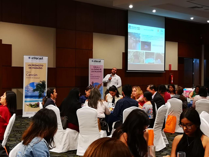 Se expande promoción de Puerto Morelos por primer vuelo Cancún-Guayaquil