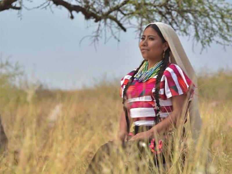Yalitza Aparicio será embajadora de buena voluntad de la Unesco