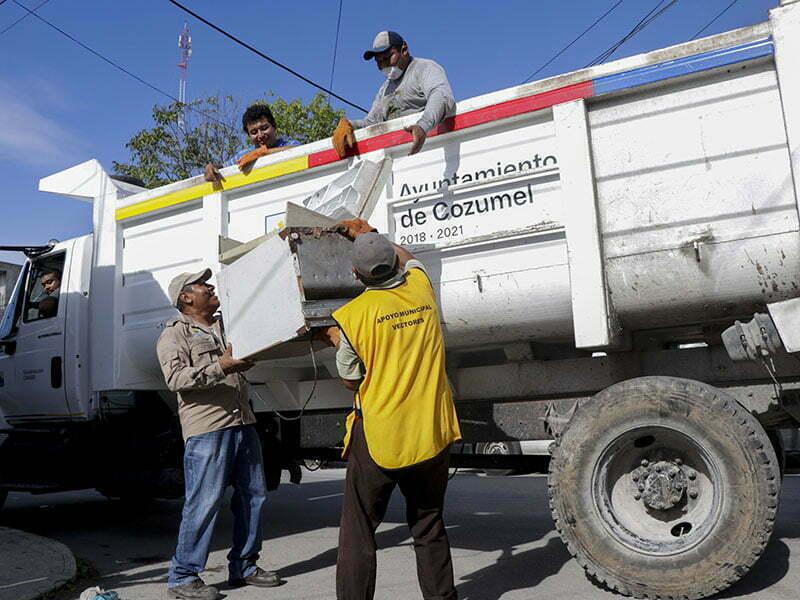 Recolectan más de 5 toneladas de cacharros en la lucha contra el dengue