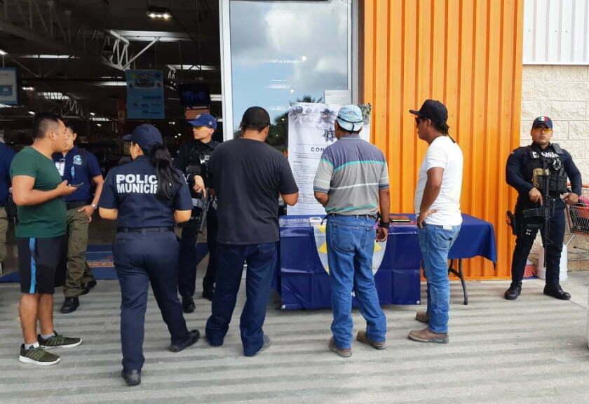 Continúa el reclutamiento en la Dirección de Seguridad Pública y Tránsito