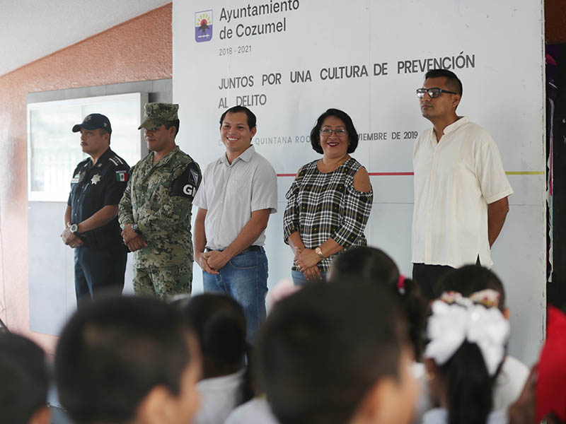 Implementan proyecto 'Topaz' en escuela primaria en Cozumel