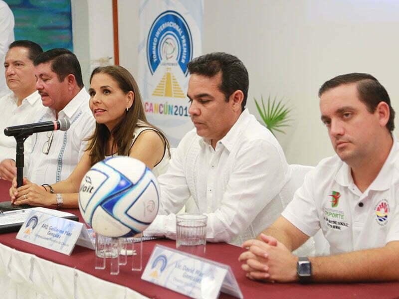 Mara Lezama presenta el Torneo Internacional Premier 2019