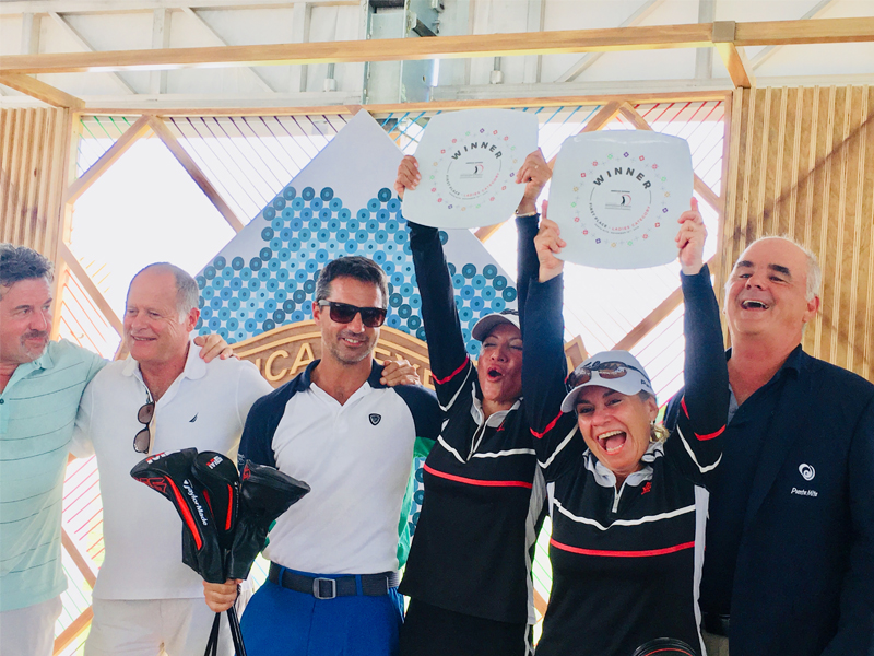 'Las Jackies' triunfan en American Express Gourmet & Golf en Punta Mita