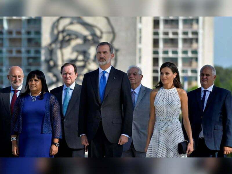 Los reyes de España y el bloqueo económico a Cuba: Cristina Alcayaga