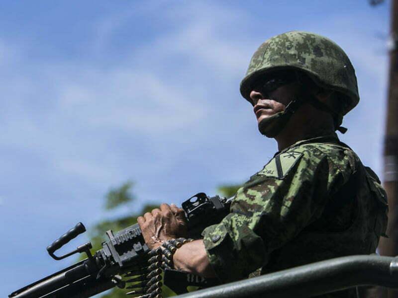 Un grupo de élite del ejército está enojado