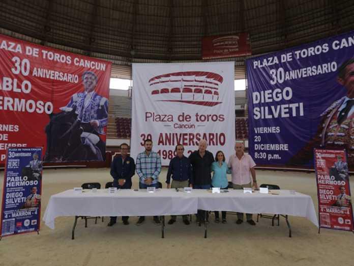 Anuncian corridas por los 30 años de la Plaza de Toros de Cancún