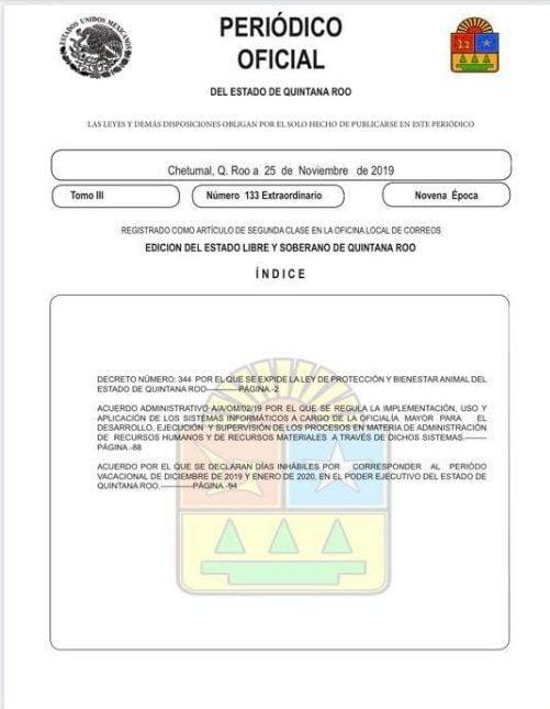 Oficial: Prohíben corridas de toros y pelea de gallos en Quintana Roo