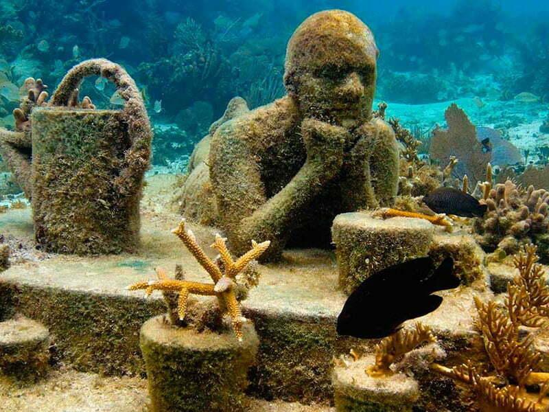 Faltan recursos para sumergir esculturas