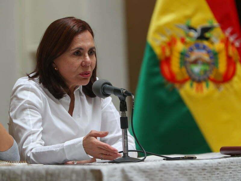 Canciller de Bolivia asegura que México rompió principios de asilo