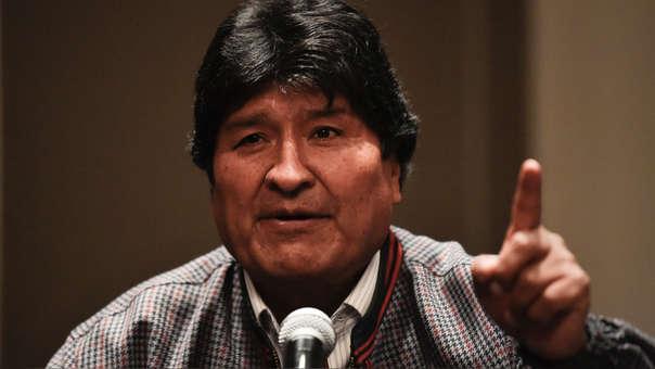 Evo Morales afirma que tiene notificación azul de Interpol