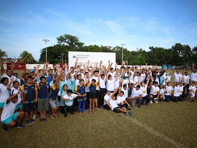 Cozumel continua promoviendo el deporte