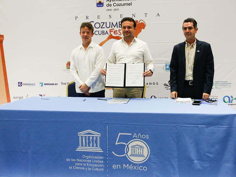 Cozumel crea alianza estratégica con UNESCO y Agencia Alemana GIZ