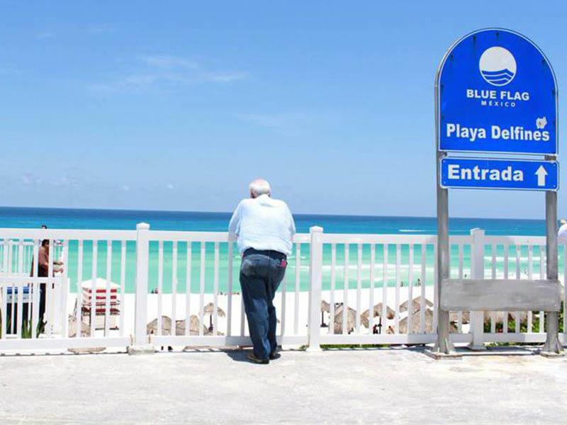 Hoteles de Cancún buscarán que sus playas sean Blue Flag