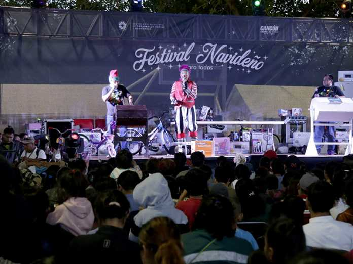 Se realiza con éxito el tercer 'Festival Navideño para Todos'
