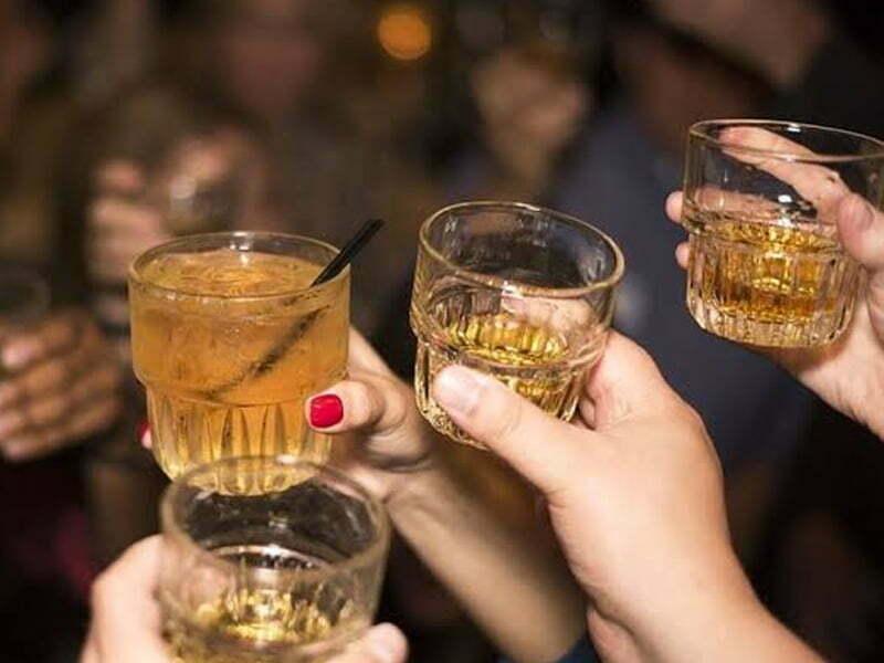 Esto pasará si bebes alcohol en todo el maratón Guadalupe-Reyes