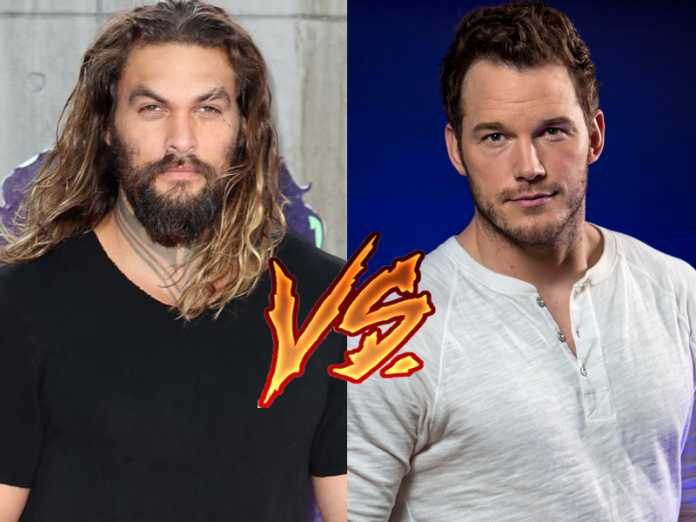 Aquaman VS Star Lord: Jason Momoa atacó publicamente a Chris Pratt