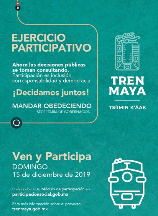 En Quintana Roo, 67 casillas definirán futuro de Tren Maya