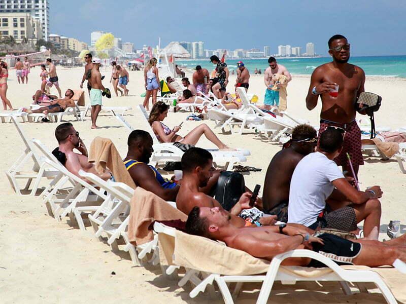 Cancún y Solidaridad de los destinos más solicitados en esta temporada
