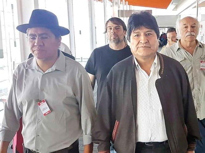 Evo Morales oficialmente ya es refugiado en Argentina