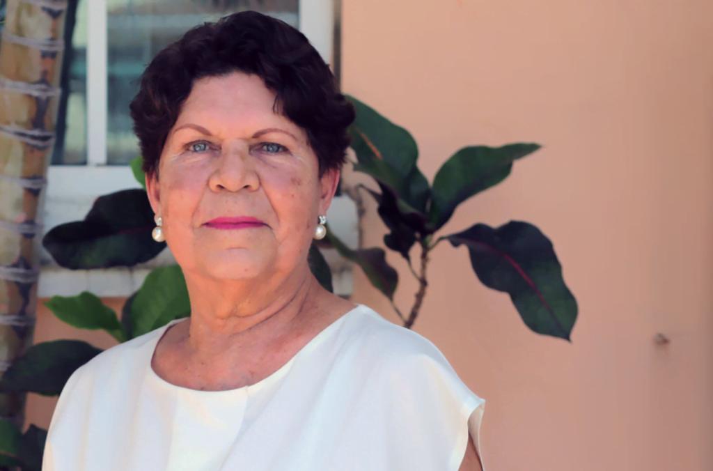 María Celia Vilar, la primera maestra en el paraíso