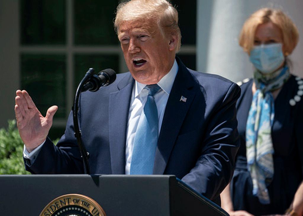 Donald Trump espera vacuna contra Covid-19 antes de que acabe el año