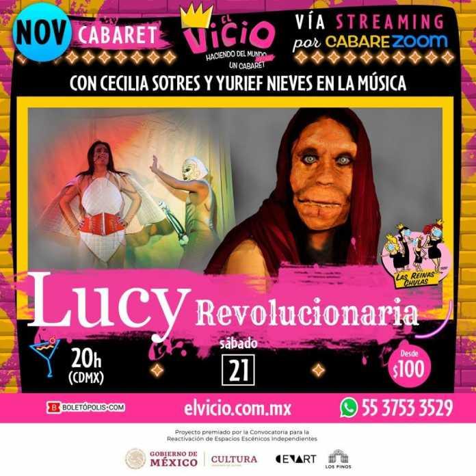 Las Reinas Chulas regresan al Vicio, ahora en streaming llega Cecilia Sotres con: 'Lucy, Revolucionaria'