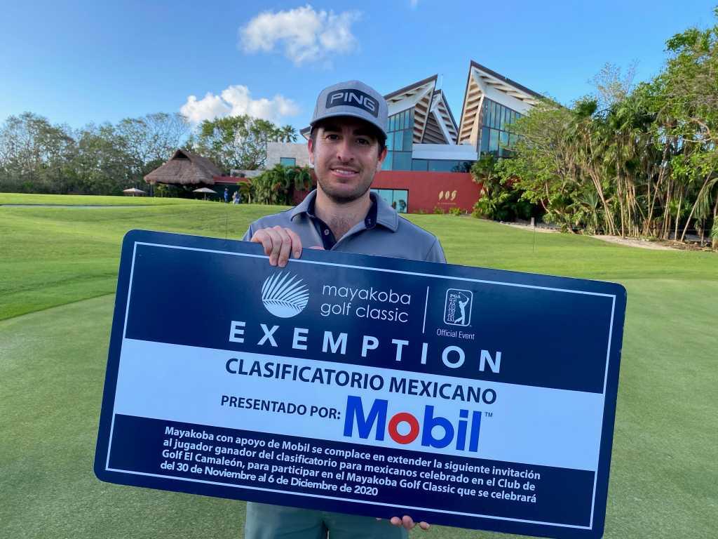 Armando Favela gana su boleto al Mayakoba Golf Classic en el clasificatorio mexicano