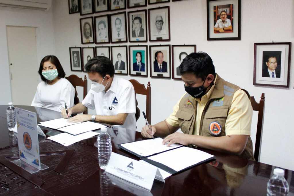 Firma COEPROC y CANACO SERVYTUR convenio de colaboración