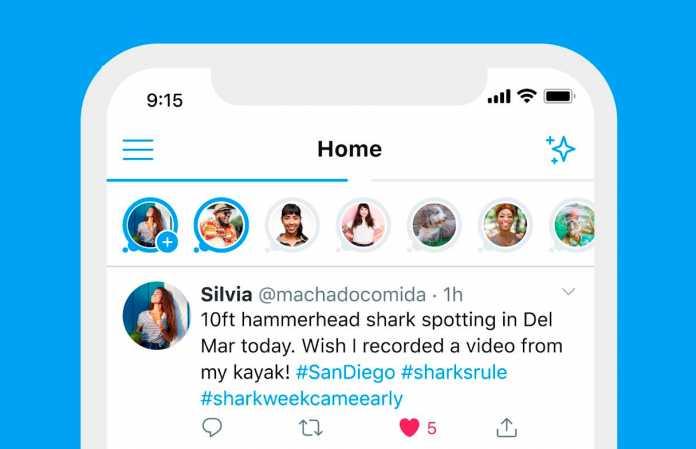 Ahora es posible subir 'historias' a Twitter