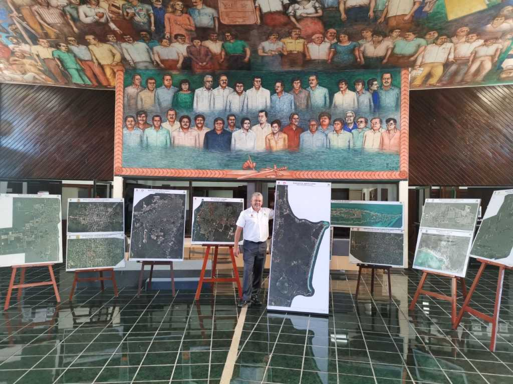 IGECE participa en la exposición 'Quintana Roo, una visión cartográfica'