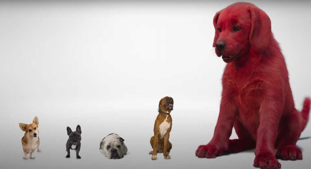 Paramount Pictures da el primer vistazo de 'Cliford, el gran perro rojo'