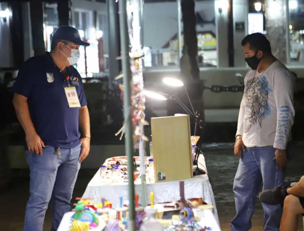 Continúa a paso firme la reactivación económica de Puerto Morelos: Laura Fernández